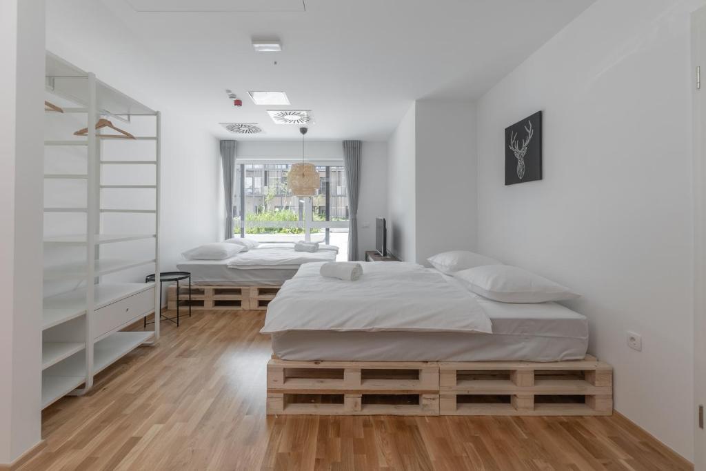 Deluxe Queen Room with Two Queen Beds (D)